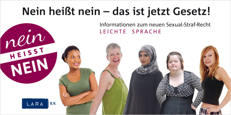 Flyer in leichter Sprache Download